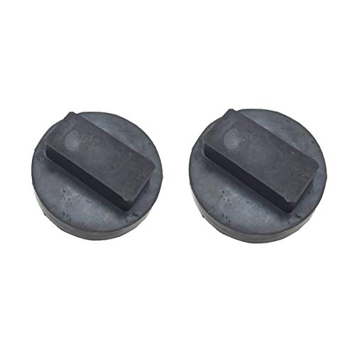 AIPICO 2 Pcs Rubber Car Jack Pad Adapter Jacking Pad Tool for BMW