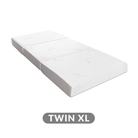 Milliard-Tri-Folding-Memory-Foam-Mattress-Ultra-Soft-Washable-Cover-Twin-78-x-38-x-6