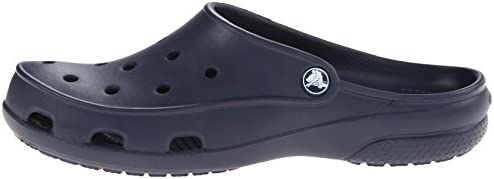 63d7d4c5b36440 crocs Women s Freesail Navy Clogs - W8  Buy Online at Low Prices in ...