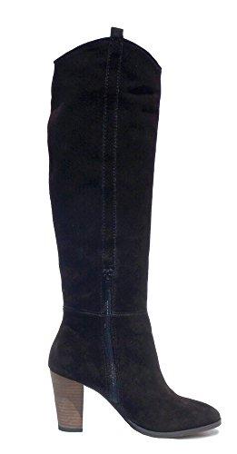Hasta Para Mujer Rodilla Altas Negro Botas 36 Ninguta 42 La – Wellington Piel Auténtica De RzqtxwTf