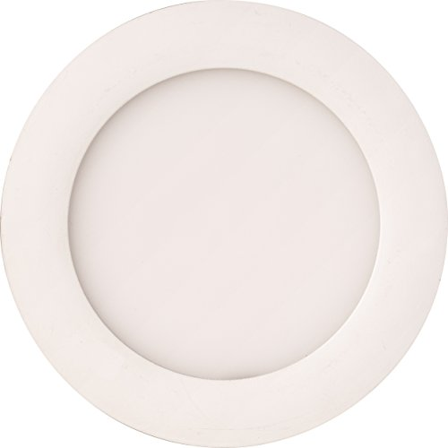 "Lithonia Lighting WF4 LED 40K MW M6 10W Ultra Thin 4"" Dimmable LED Recessed Ceiling Light, 4000K, White"