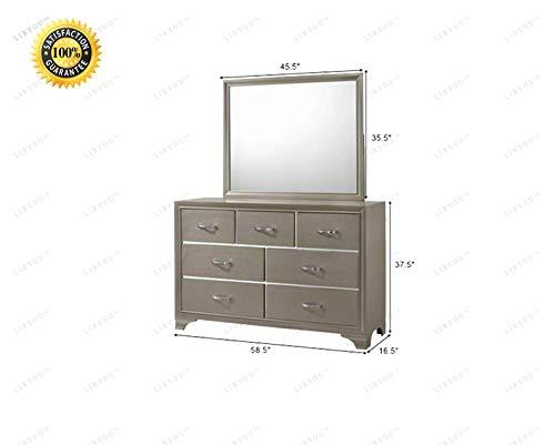 (LIBYOU_Dresser Chest,Drawers Dresser,Storage Cabinet,Drawers Chest Organizer, Dresser Cabinet,Bedroom Furniture,Drawers Chest Dresser,Dresser,Organizer Unit for Bedroom)
