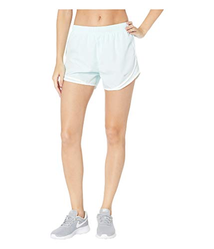 Womens Dri Fit Short - Nike Women's Dry Tempo Short Teal Tint/Teal Tint/White/Wolf Grey Large 3