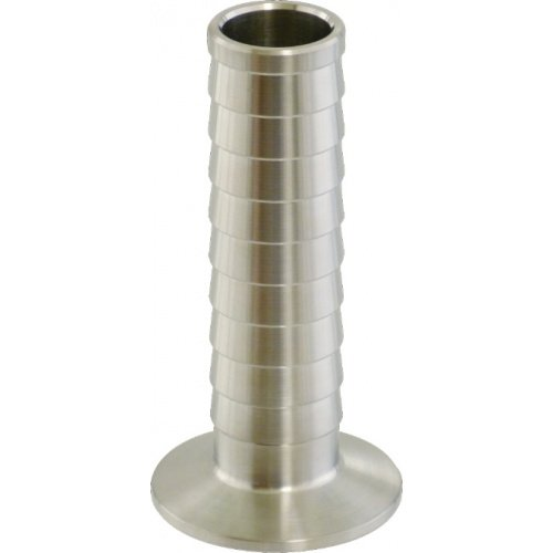 Eagle H673 Stainless Fitting, 1.5'' TC x 1/2'' Barb