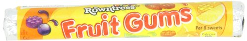 Rowntree's Fruit Gum Roll, 1.6-Ounces (Pack of 18) by Rowntree's