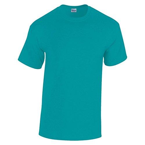 Gildan Heavy Camiseta de algodón para adultos verde jade