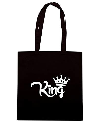Borsa Shopper Nera WES0935 KING