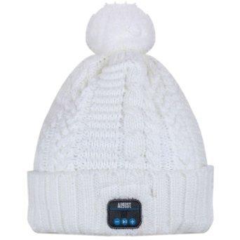 AUGUST EPA30W Wireless Bluetooth Beanie Hat Cap with Musi...