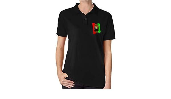 UP LUCK Rasta Lion Dreadlocks Hair Jamaica Flag Women Premium ...