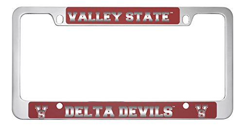 Mississippi Valley State University (Mississippi Valley State University -Metal License Plate Frame-Red)