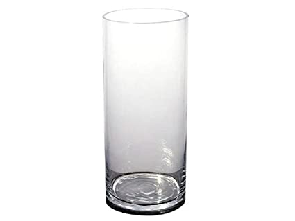 Amazon 4 Pcs 20 Inch Tall Cylinder Clear Glass Vases Wedding