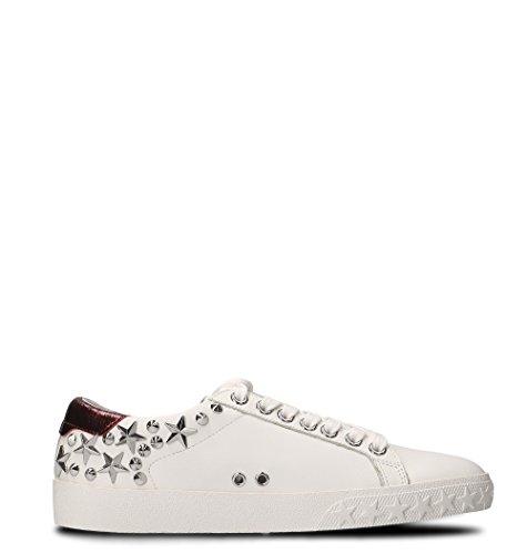 Sneakers Ash Women's DAZED04BLDBORDEAUX White Leather IFHCFwq
