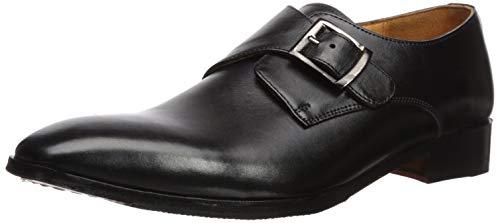 - Carlos by Carlos Santana Men's Freedom Monk-Strap Loafer, Black Full Grain Calfskin Leather, 11 D US