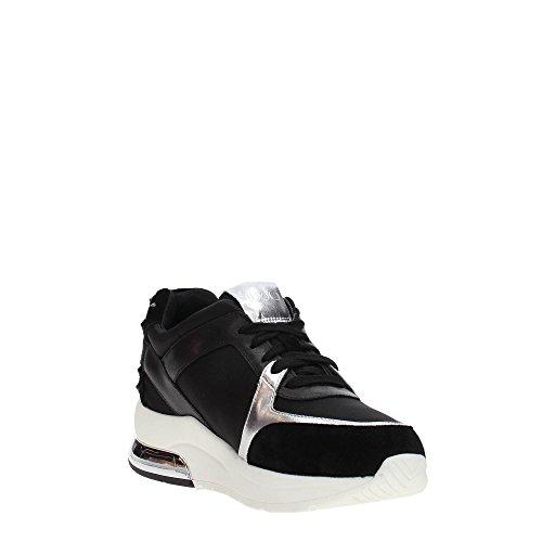 bianco B18021T2039 LIU con colore nylon nuova 10602 miranda estate Nero camoscio 50 JO running collezione in zeppa primavera logo 2018 Sneakers EPrYqP