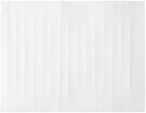 (Compulabel 312851 White VHS Spine Labels for Laser and Inkjet Printers, 5.94 inch x .67 inch, Permanent Adhesive, 15 Per Sheet, 100 Sheets per)