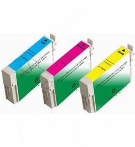 eStoreimport Compatible Ink Cartridges Replacement for Epson 124 (Cyan, Magenta, Yellow, 3-Pack)