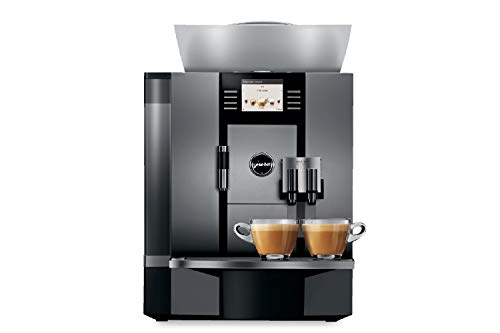Jura 15089 GIGA W3 Professional Automatic Coffee Machine, Silver with Automatic Milk Frother