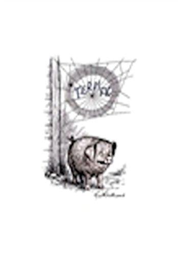 Tote Bag - Charlotte's Web Terrific Pig by Garth Williams