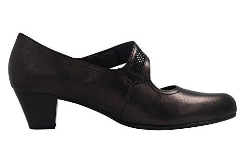 Grau Schuhe Damen Trotteur Übergrößen Spangenpumps Gabor in pztwPwq