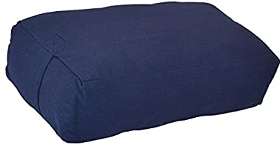 YogaDirect Supportive Rectangular Cotton Yoga Bolster from YogaDirect