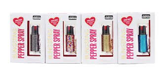 Blingsting Multi-Piece Pepper Spray Collection by Home Self Defense Products