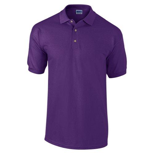 Gildan Pré Polo Lourd Poids 100 rétréci Ultra Violet Piqué Coton rxXrqSw