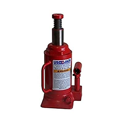 US JACK D-51125 12 Ton Bottle Jack Made in USA NSN: 5120-00-224-7330