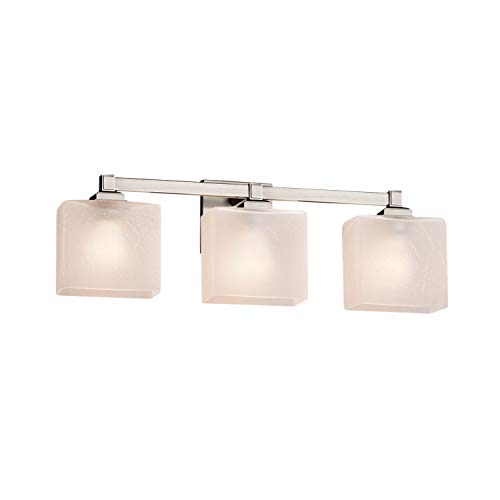 (Justice Design Group Lighting FSN-8433-55-FRCR-NCKL Regency Bath Bar, Brushed Nickel)