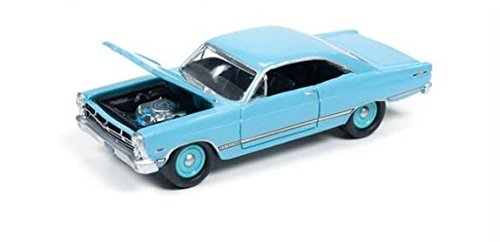Fairlane Toy - Johnny Lightning 2016 Series Classic Gold Collection 1967 Ford Fairlane 500 XL (Sky Blue, #5 of 6, Version A)