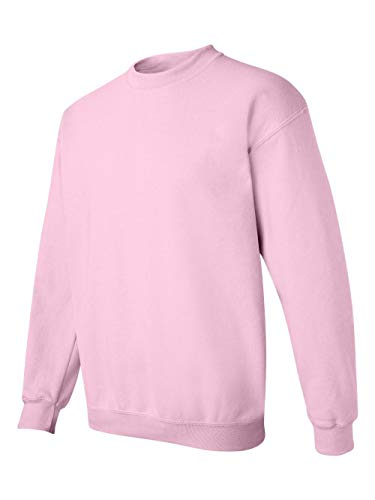 Gildan Men's Heavy Blend Crewneck Sweatshirt - XXX-Large - Light Pink - Heavyweight Fleece Crew Sweatshirt