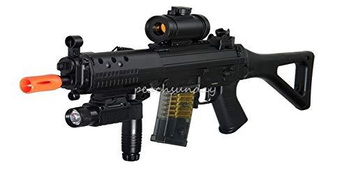 (AirSoft Double Eagle M82P SIG 552 Semi/Full Auto Electric Assault Rifle AEG)