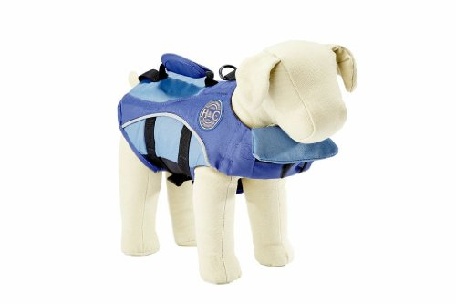 Henry and Clemmies Dog Lifejacket, Large, Blue, My Pet Supplies