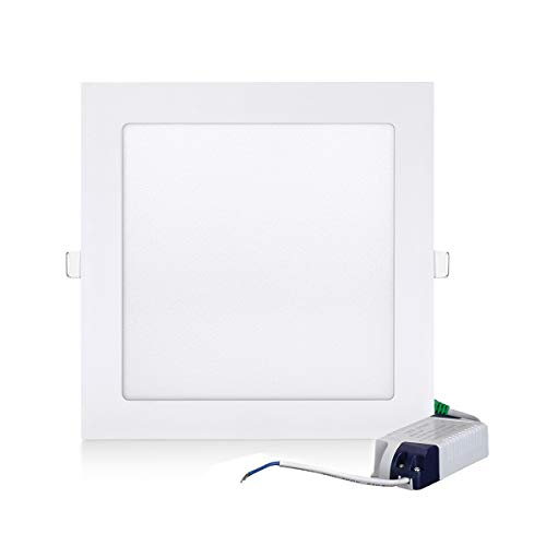 Gianor 18W Led Squre Recessed Lighting Ultra Thin Led Ceilin