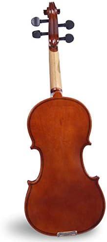 ACHKL Musical instruments handmade violin beginner exercises popularity of high-end musical instruments violin ACHKL Color : Brown