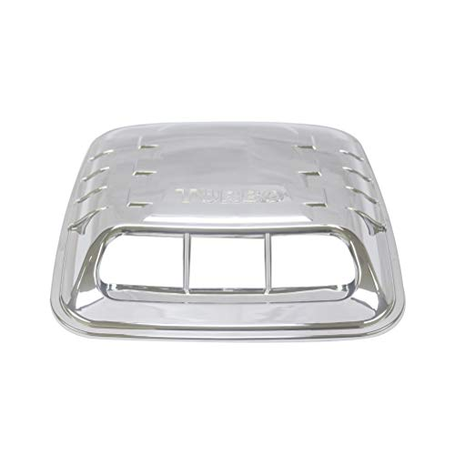 YOUNGERCAR Universal Chrome Abs Car Air Flow Intake Scoop Bonnet Vent Hood Cover ()