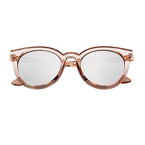 gafas los de UV sol NIFG de contra rayos moda reflexivas redondas Gafas sol retro de ZFwq5Yq7