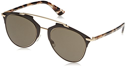 (Dior Women CD REFLECTED/S 52 Multicolor/Brown Sunglasses 52mm)
