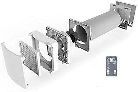 SUEDWIND: Ambientika ADVANCED- Sistemas de ventilación con recuperación de calor de una sola habitación (93%), 160 mm, 60m³/h