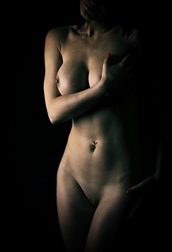 LAMINATED 24x35 Poster: Nude female body by Dan (Nude Art Poster)