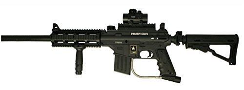 Wrek Paintball Project Salvo Designated Marksman Paintball Gun Package (Tippmann Rifle Sniper)
