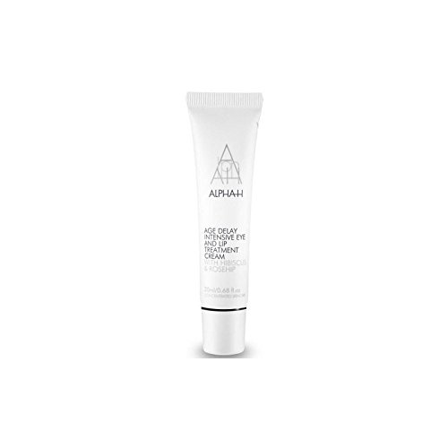 Alpha-H Age Delay Intensive Eye & Lip Treatment Cream 20ml (Pack of 4) by Alpha-H