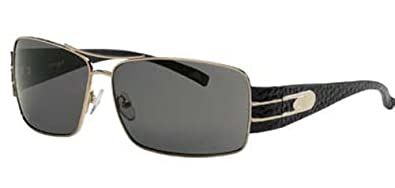 2d00fabbed9b Image Unavailable. Image not available for. Color: Angel Eyewear Opulent  Sunglasses (Gold Frames - Smoke ...