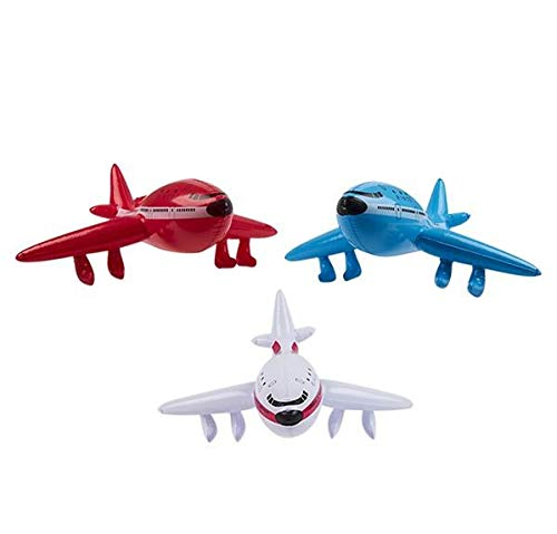 Rhode Island Novelty 24 Inch Jet Inflatables | Sold as a Set of 6