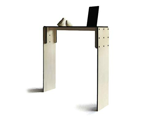 Lohn Little Objects For Huge Needs28x7 Inches Wood Very Narrow Console Table With Luminous Smartphone And Tablet Stand Hallway In Many Colors Slim Contemporary Design Behind Sofa Tables Living Room