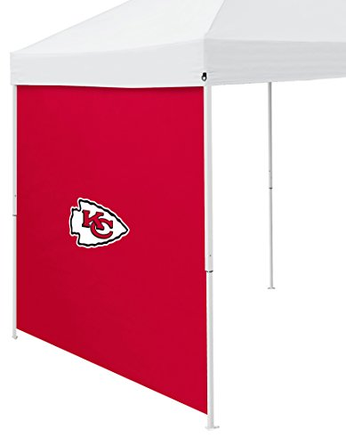 Logo Brands NFL Kansas City Chiefs Side Panel, One Size, Red