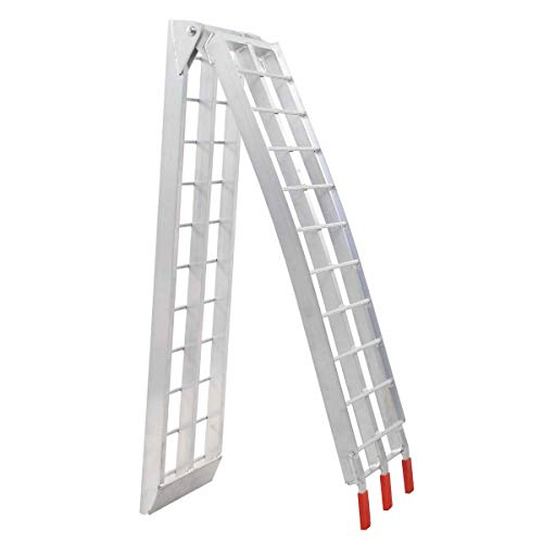Toolsempire 7.5' Arched Motorcycle Bike Folding Loading Ramps by Toolsempire (Image #6)