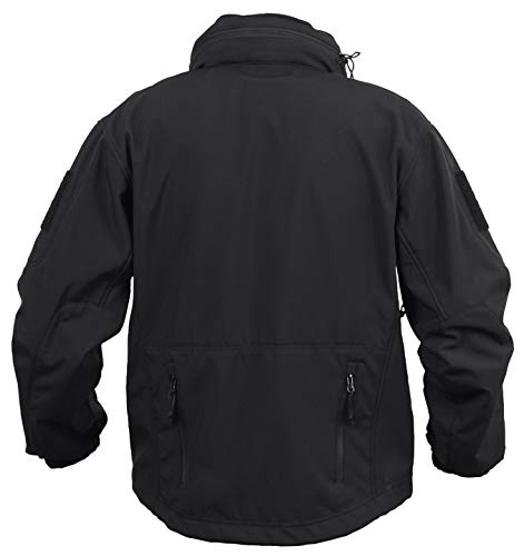 Rothco Concealed Carry Soft Shell Jacket, L, Black