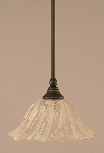 Toltec Lighting 23-DG-7193 Stem Mini Pendant with Hang Straight Swivel with 10