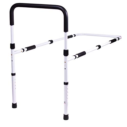 Carex Bed Rails for Elderly Adults - Adult Bed Rails and Bed Grab Bar for Eldery, Seniors, People with Mobility Issues - Tool-Free Assembly