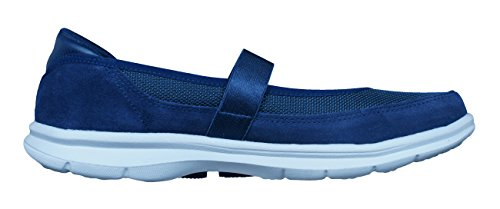 Shoes Athletic Mary Suede Ladies Womens Navy Skechers Go Snap Jane Step ypza1qcH